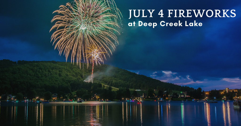 Deep Creek Lake Fireworks