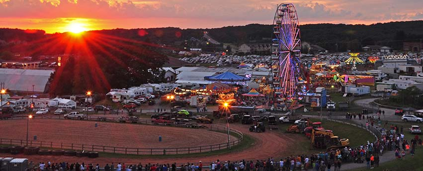 Garrett County Fair Events