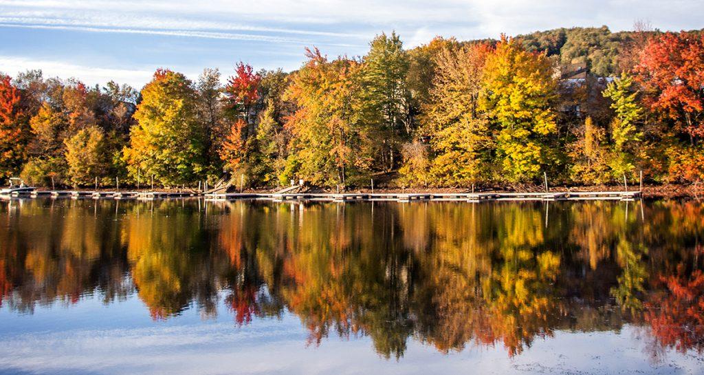 fall hikes at deep creek lake