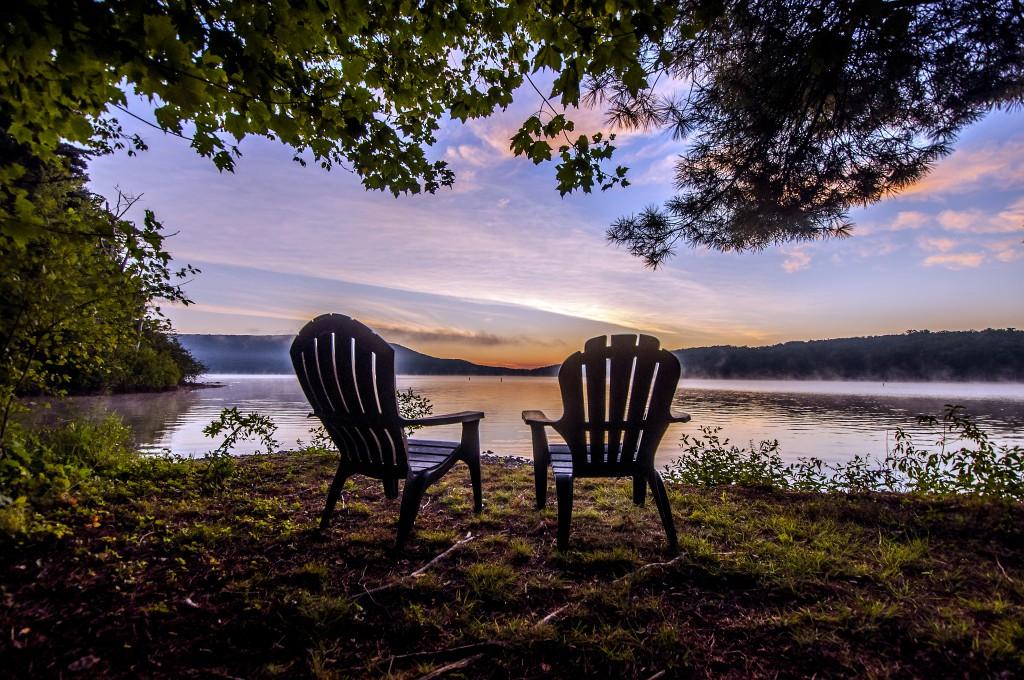 Sunrise at Deep Creek Lake