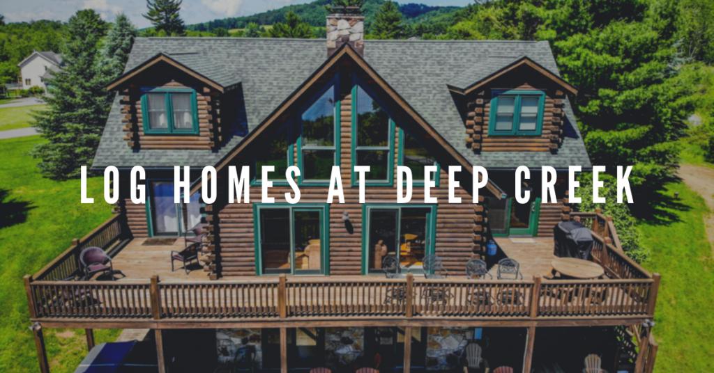 log cabins in deep creek, md