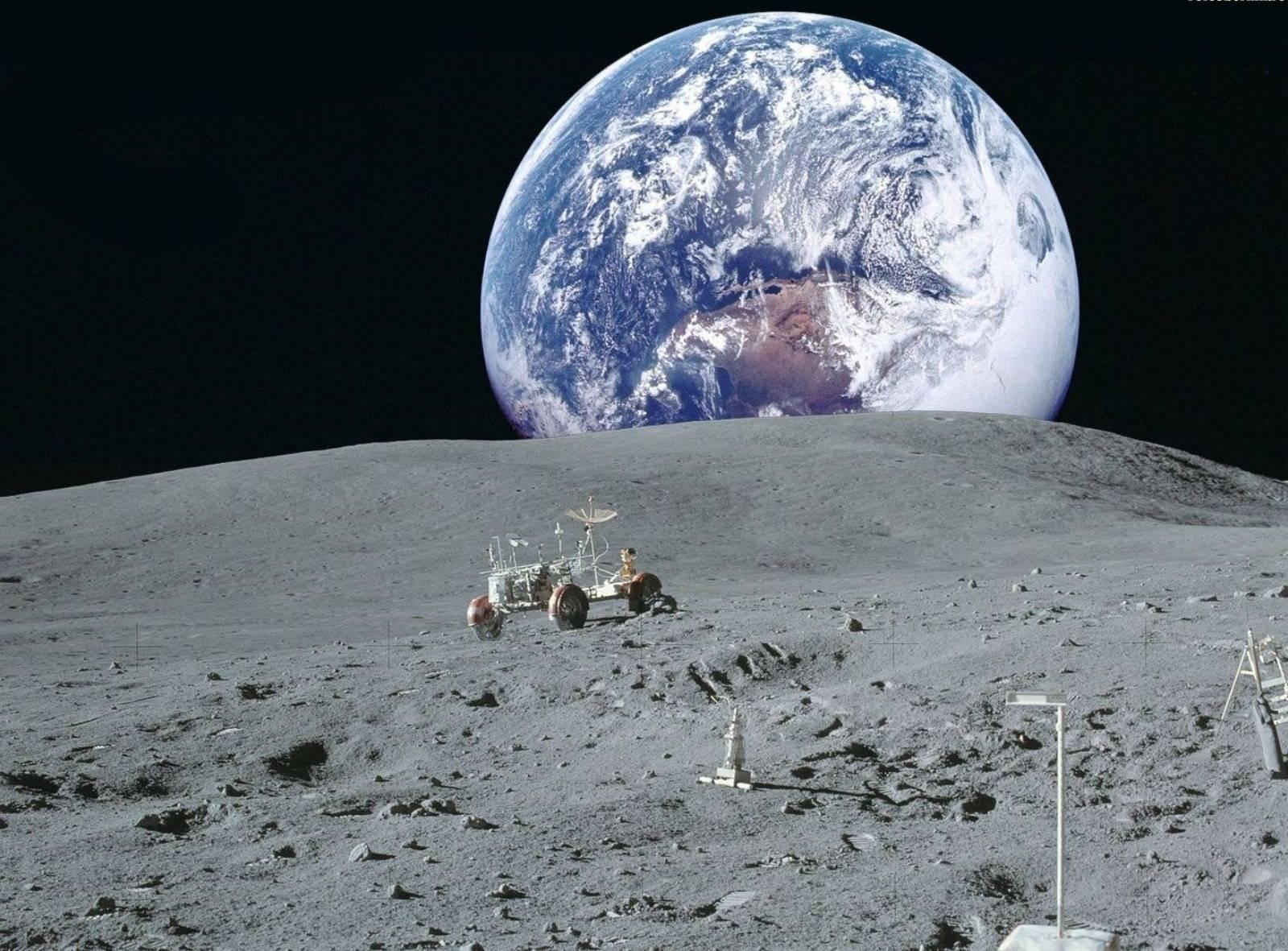 Luna y Tierra. Archivo