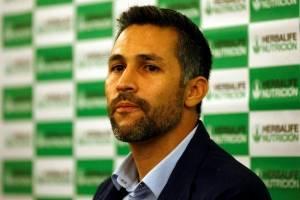 El excapitán de la Selección Colombia, Mario Alberto Yepes, anunció su retiro después de 21 años de carrera durante una rueda de prensa en la ciudad de Cali (Colombia). Agencia EFE.