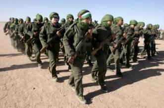 Militantes del Frente Polisario. EFE