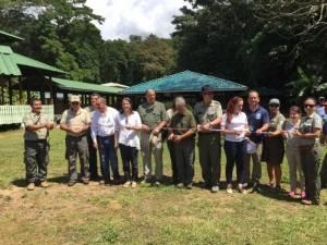 Inauguración de nuevas instalaciones en Parque Nacional Corcovado. F. Neotrópica