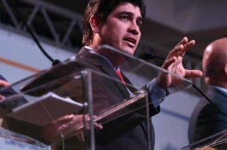 Carlos Alvarado Quesada Foto tomada del Facebook de Carlos Alvarado