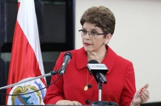 Foto por: Prensa de la Asamblea Legislativa. Marta Acosta, Contralora General de la República.