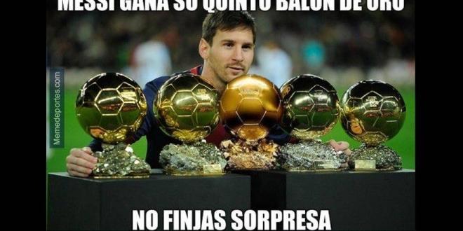 Memes-Balón de Oro 2015