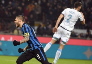 Mauro Icardi, del Inter.