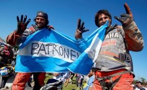 Los argentinos Marcos Patronelli (i) y Alejandor Patronelli (d).