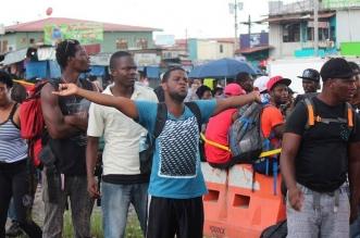 Migrantes en Costa Rica. Archivo