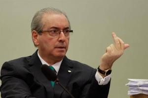 El ex jefe de la Cámara de Diputados de Brasil, Eduardo Cunha, suspendido por supuesta corrupción. Agencia EFE.