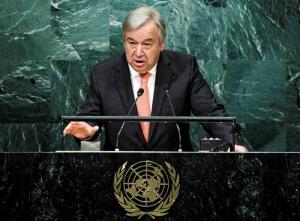 El nuevo Secretario General de la ONU, António Guterres Agencia EFE.