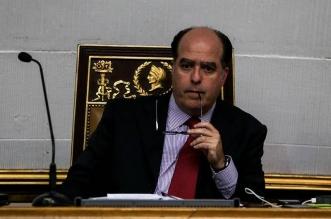 El presidente de la Asamblea Nacional de Venezuela, Julio Borges. EFE.