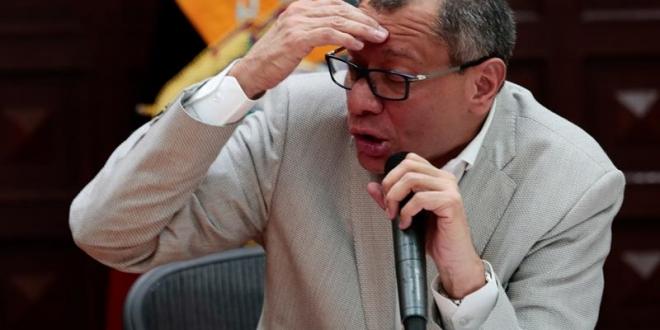 El vicepresidente de Ecuador, Jorge Glas. Archivo