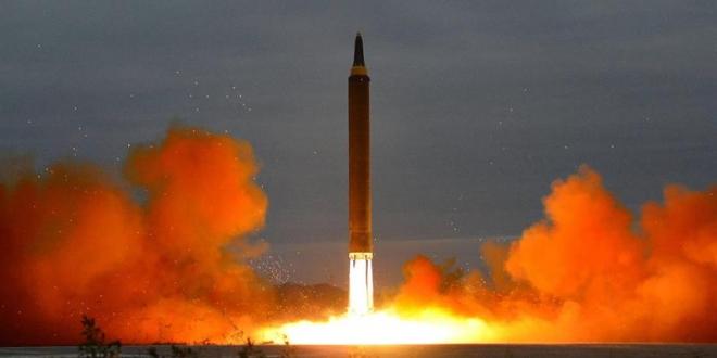 Misil norcoreano. Archivo agencia KCNA