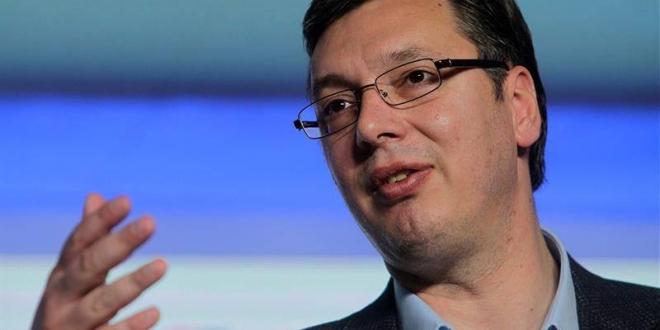 Aleksandar Vucic. Archivo