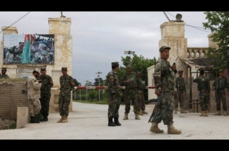 Base del ejército afgano en Mazar-i-Sharif. Archivo