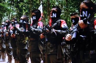 Combatientes del ELN. Portal Voces de Colombia