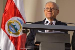 Ministro de Hacienda, Helio Fallas. ElPaís.cr