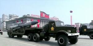Desfile militar en Corea del Norte. Sputnik