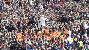 Domingo de Pascua en El Vaticano. EFE
