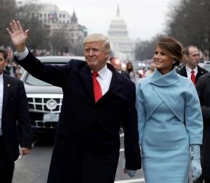 Donald Trump inaugura su gestión como presidente número 45 de EEUU. EFE
