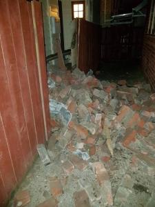 Efectos del terremoto en Nueva Zelanda. Twitter.