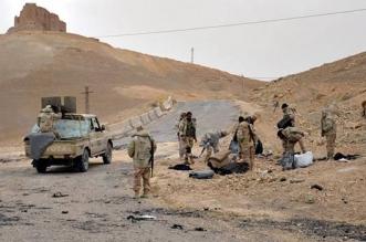 Ejército sirio en Palmira. FARS