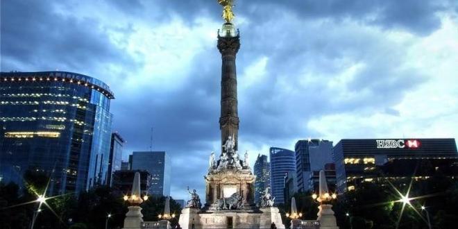 El Ángel de la independencia de México. Foto tomada de MXCity