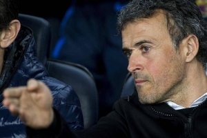 El entrenador del FC Barcelona, Luis Enrique Martínez. EFE
