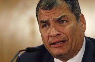 El expresidente de Ecuador, Rafael Correa. Archivo