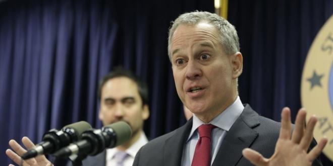 El fiscal general del estado de Nueva York, Eric Schneiderman. Redes