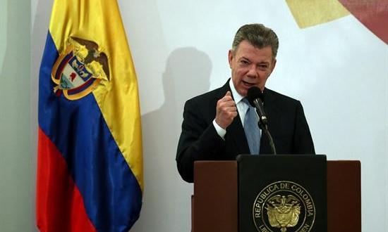 El ex presidente de Colombia, Juan Manuel Santos. Archivo