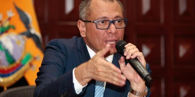 Ex vicepresidente de Ecuador, Jorge Glas Espinel. Archivo