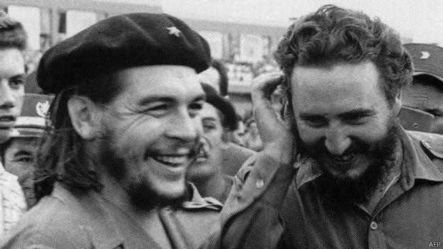 Ernesto El Che Guevara y Fidel Castro. Archivo