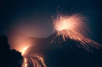 Erupción del volcán Shiveluch en agosto del 2011. ArchivoSputnik