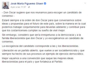 Figueres vs Arias