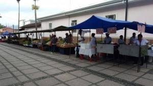 Feria del Agricultor frente a la Asamblea Legislativa Fotografía facilitada por: Prensa PAC