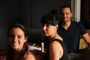 Foto por: Laverne Otárola Oficinas de Delefoco En la foto: Josué Fischell y el equipo de producción de Delefoco