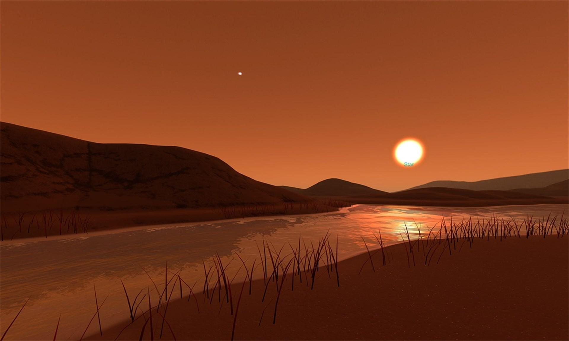 La NASA ofrece viaje virtual al paisaje supuesto de otros mundos