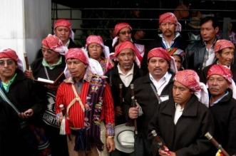 Jueces indígenas de Guatemala. Redes