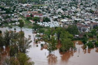 Inundaciones en Argentina. Telam
