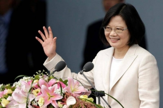La presidenta de Taiwán, Tsai Ing-wen. Archivo