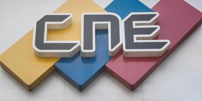 Logo del Consejo Nacional Electoral de Venezuela. Archivo