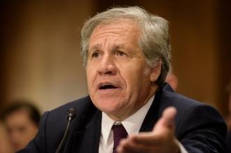 Luis Almagro, Secretario OEA. Archivo