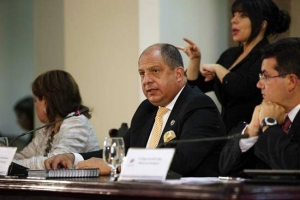 Luis Guillermo Solís EFE
