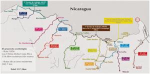 Mapa de la Trocha