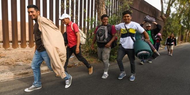 Migrantes centroamericanos en México. Archivo