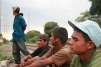Migrantes centroamericanos en México. Cortesía